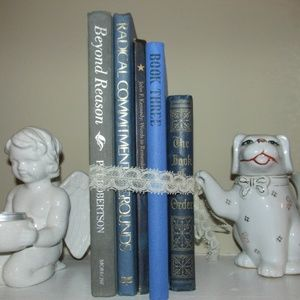Other - Small mini vintage book lot for Shelf Mantle decor